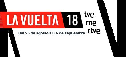 Logo de Vuelta Ciclista a España 2018