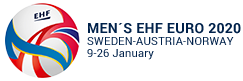 Logo Europeo de balonmano 2020